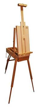 """Етюдник """"D.K.Art&Craft"""" дерево 70х93х180см з палітрою і ремінцем №94160437"""