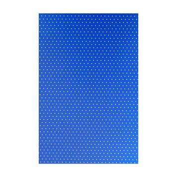 """Папір для дизайну з малюнком""""Крапка""""А4 21 * 31см №4834003,200 г/м2,односторонній,синій,Heyda"""