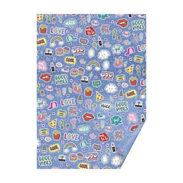 """Папір для дизайну з малюнком""""Patches"""" А4 21x29.7см,№204771738,300 г/м2,Heyda"""