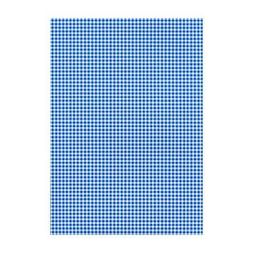 """Папір для дизайну з малюнком""""Клітинка""""А4 21 * 31см№204774625,200 г/м2,двостор.,синій,Heyda"""