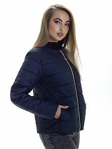 Куртка жіноча весна Irvik ZK131 синя