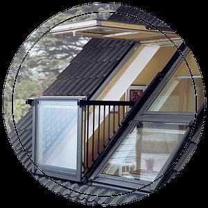 Окна в крыше: разновидности и особенности конструкций