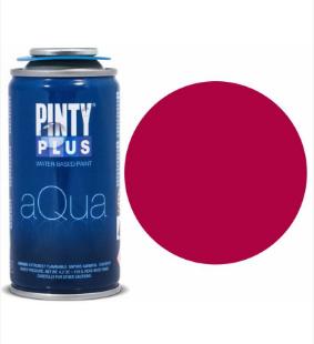 Фарба-аерозоль на водній основі Pintyplus Aqua 150мл №NV00333 Червона