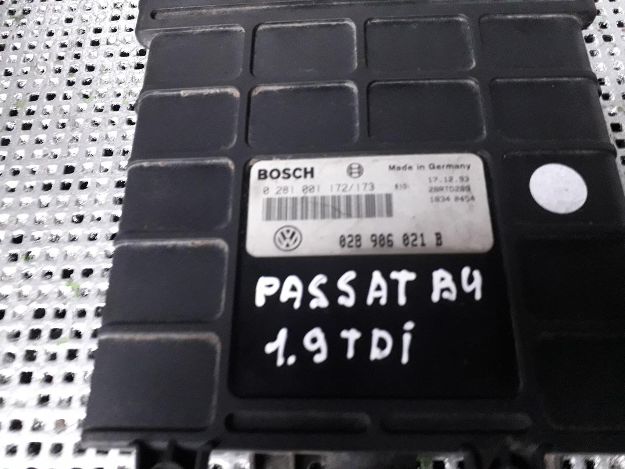 028 906 021B Блок управління двигуном для Volkswagen Passat B4