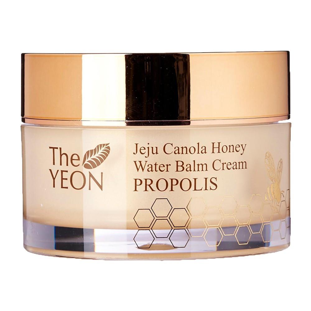 Зволожуючий крем-бальзам для обличчя з медом The Yeon Jeju Canola Honey Water Balm Cream Propolis 50 мл