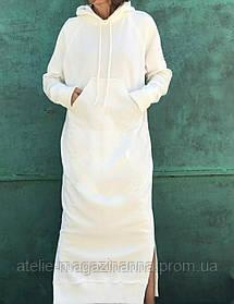 Сукня трехнитка з начосом бавовна кольори в асортименті в трьох розмірах 42-44, 46-48, 50-52