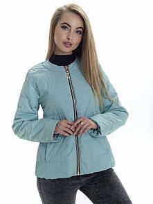 Куртка жіноча весна Irvik ZK136 м'ятний