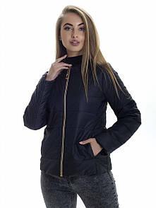 Куртка жіноча весна Irvik ZK132 чорна