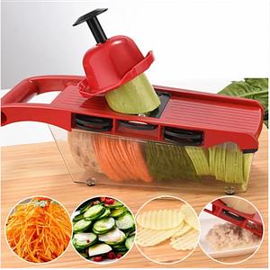 Овочерізка для овочів і фруктів Mandoline Slicer 6 in 1 c контейнером, слайсер , терка