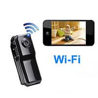 Мини WiFi IP камера - видеорегистратор с разрешением записи 640х480 и возможностью просмотра на Iphone/android