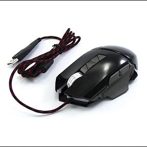 Ігрова комп'ютерна провідна мишка USB Jedel GM770 з підсвічуванням Чорний