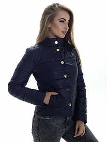 Куртка женская весна Irvik KS151 синий