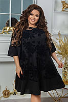 Женское платье большого размера.Размеры:48/66+Цвета