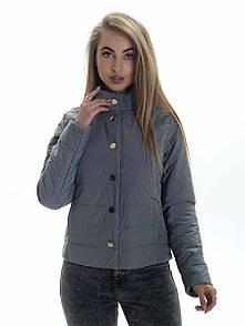 Куртка женская весна Irvik KS155 оливковый