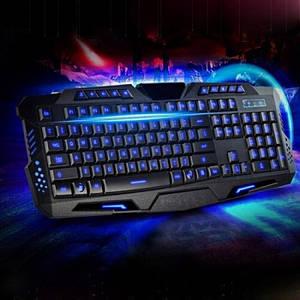 Ігрова провідна російська клавіатура M200 з підсвічуванням USB