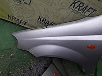 Крило переднє ліве праве для Chevrolet Aveo, Daewoo Kalos 2004 хетчбек, фото 1