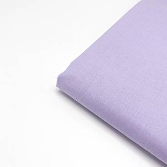 Польская хлопковая ткань светло-сиреневая  160 см