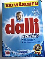 Стиральный порошок Dalli sensitiv 6,5 кг (100 стирок)