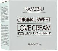Антивіковий зволожуючий крем для обличчя Ramosu Original Sweet Love Cream Excellent Moisturizer 50 мл, фото 2