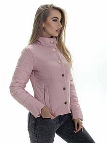 Куртка женская весна Irvik KS153 розовый