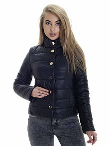 Куртка женская весна Irvik KS152 черный