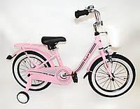 """Детский велосипед Casper 16"""" розовый"""