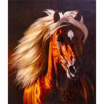 Картина по номерам 40х50 см DIY Сказочный конь (FX 30344)