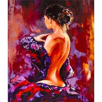 Картина по номерам 40х50 см DIY Женская красота (FX 30781)