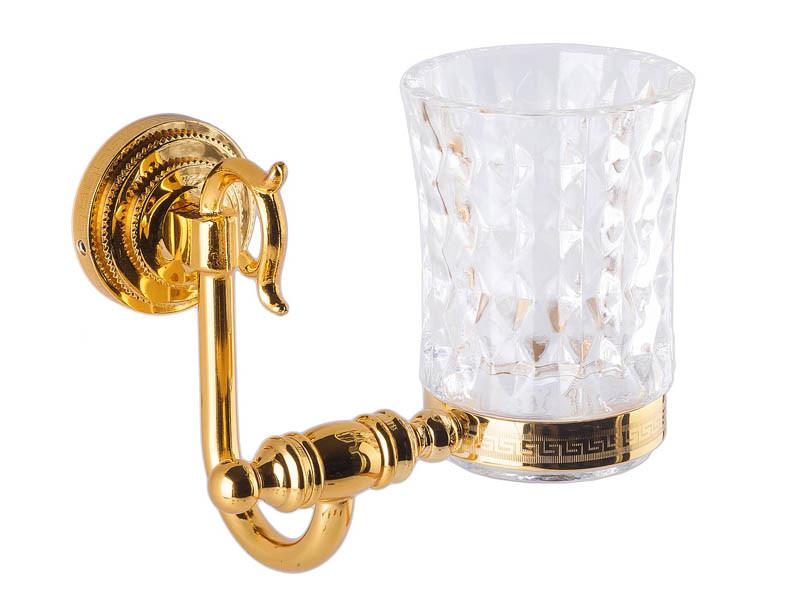 Стакан для зубних щіток, золото KUGU Versace 206G