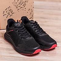 Дышащие мужские кроссовки из сетки на лето  BS TREND SYSTEM  Black