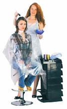 Одноразовая одежда (фартуки, пеньюары) и обувь (вьетнамки, тапочки)