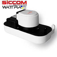 Дренажный насос отвода конденсата SICCOM ECOTANK 2.5 ( насос для климатического оборудования)
