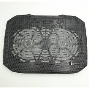 Охолоджуюча підставка для ноутбука Notebook Cooler Pad N136 Чорна