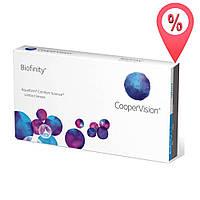 Контактные линзы Biofinity CooperVision 6 шт