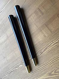 Мебельные ножки и опоры деревянные с металлическим наконечником  H.610 D.55*20