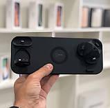 Бездротова зарядка FAST CHARGER D6 Pro 6в1 Док станція, зарядний пристрій, акумулятор для гаджетів, білий, фото 9