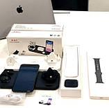 Бездротова зарядка FAST CHARGER D6 Pro 6в1 Док станція, зарядний пристрій, акумулятор для гаджетів, білий, фото 10
