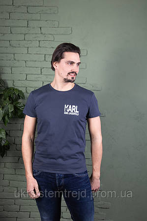 Футболка однотонная Karl Lagerfeld