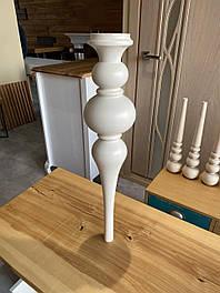 Мебельные ножки и опоры деревянные для стола  H.750 D.160