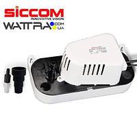 Дренажный насос отвода конденсата SICCOM Flowatch Tank 1.3 L (насос для котлов и кондиционеров)