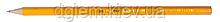 Карандаш графитовый JOBMAX HB без ластика желтый