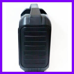 Беспроводная портативная bluetooth колонка B31 - чемодан с караоке, фото 2