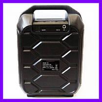 Беспроводная портативная bluetooth колонка B31 - чемодан с караоке, фото 3