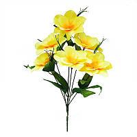 Букет магнолии на 6 голов ( в упаковке 14 шт) продажа упаковками Искусственные цветы оптом