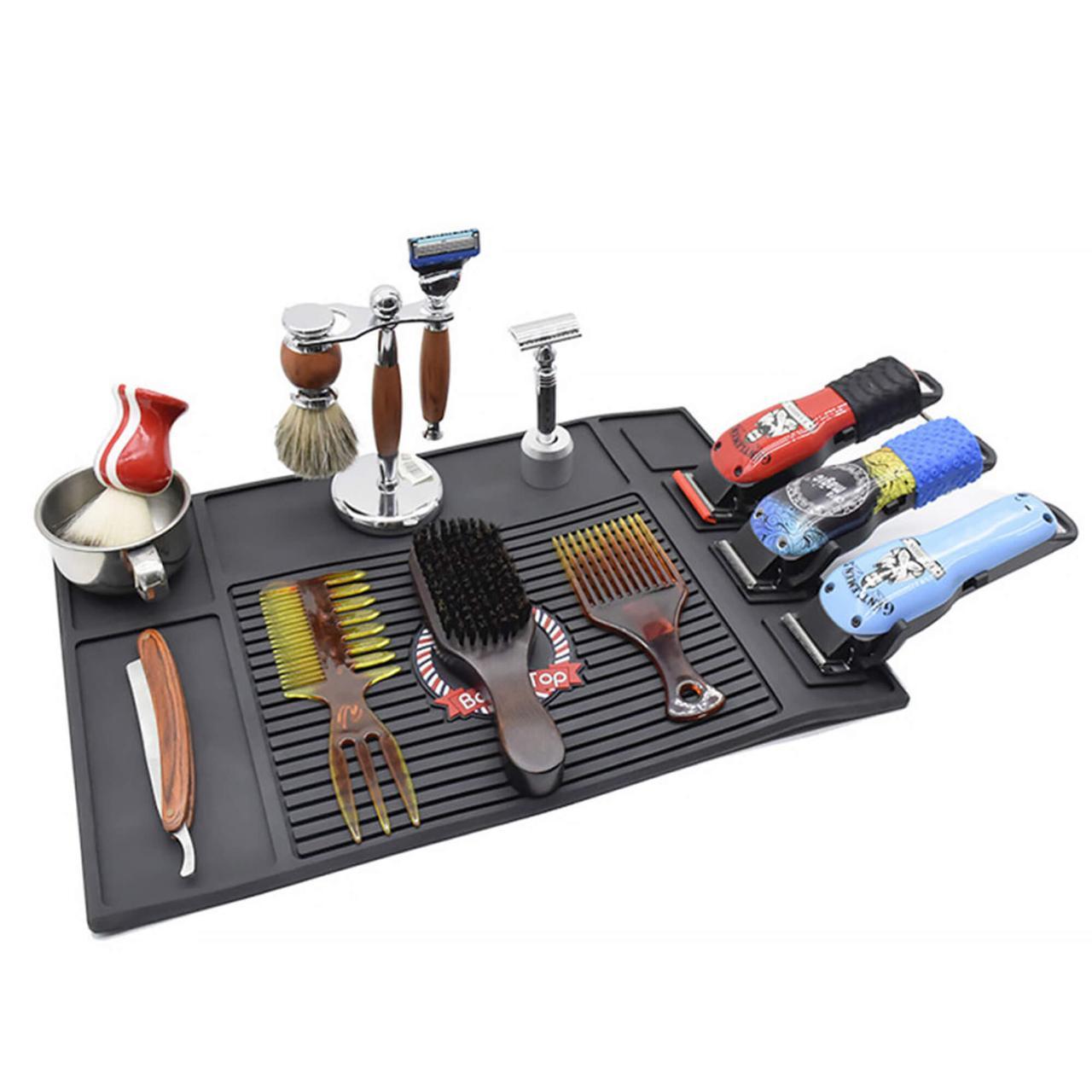 Термостійкий килимок для інструментів з магнітом для машинок SPL (45х30 см) 21150