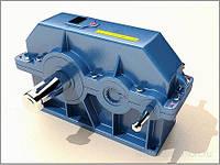 Промышленные цилиндрические двуступенчатые редукторы типа 1Ц2У-250