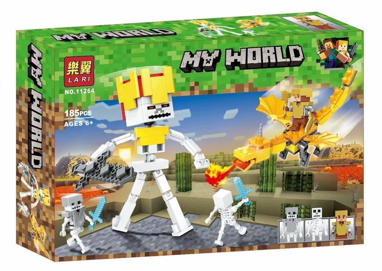 "Конструктор Lari MyWorld ""Сражение на драконе"" арт. 11264"
