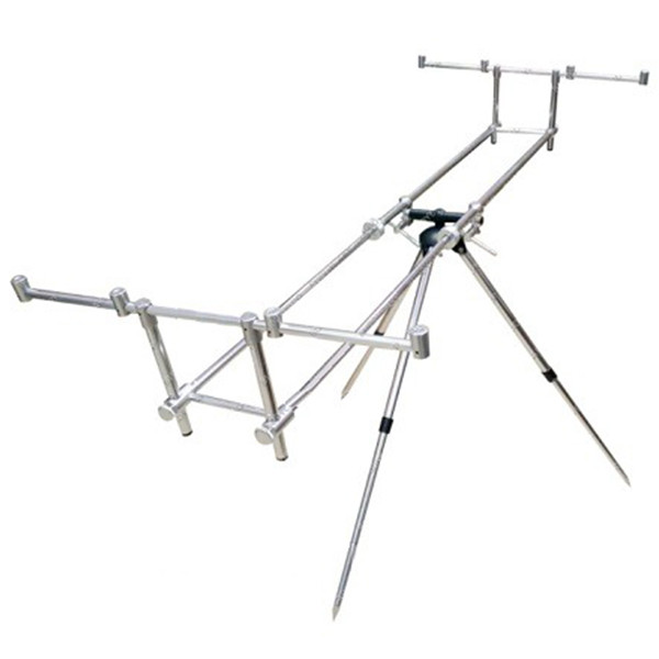 Підставка для вудилищ Rod Pod STENSON 125 х 65 х 75 см род под стійка тримач тринога для вудок спінінга