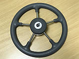 Рулевое колесо Pretech нержавейка 32 см серое, фото 7