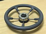 Рулевое колесо Pretech нержавейка 32 см серое, фото 6